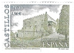 Stamps : Europe : Spain :  castillo de montesouiu