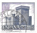 Sellos del Mundo : Europa : España : castillo de villalonso