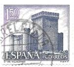 Stamps : Europe : Spain :  castillo de villalonso