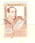 Sellos del Mundo : America : Venezuela : RESERVADO Romulo Gallegos