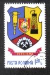 Stamps Romania -  Armas de los condados rumanos