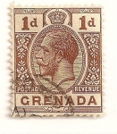 Stamps Grenada -  Rey Jorge V.