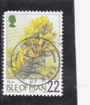 Stamps Isle of Man -  FLORES-