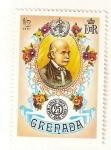 Stamps Grenada -  Medicos y cientificos. Ignaz Philip Semmelweis.