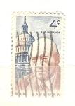 sellos de America - Estados Unidos -  sam rayburn