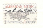 Stamps United States -  musica americana