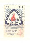 Stamps United States -  RESERVADO campamento