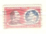 Stamps United States -  montgmery blair