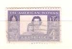 Sellos del Mundo : America : Estados_Unidos : RESERVADO mujer americana