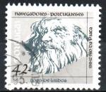 sellos de Europa - Portugal -  NAVEGANTES  PORTUGUESES.  JOAO  DE  LISBOA.