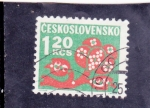 Stamps Czechoslovakia -  ILUSTRACIÓN FLORES