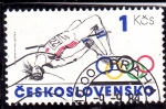 Stamps : Europe : Czechoslovakia :  OLIMPIADA