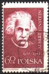 Sellos de Europa - Polonia -  CIENTÍFICOS.  ALBERT  EINSTEIN.