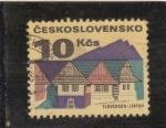 Sellos de Europa - Checoslovaquia -  LIPTOV