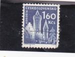 Stamps Czechoslovakia -  CASTILLO DE KOKORIN