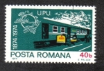 Stamps Romania -  U.P.U. (Unión Postal Universal), Centenario