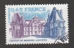 Stamps France -  Castillo de Maison Laffitte