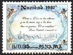 sellos de America - Panamá -  NAVIDAD  91