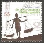 Sellos de Europa - Alemania -  2753 - 50 Anivº de la implicación alemana contra el hambre en el mundo
