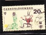 Sellos de Europa - Checoslovaquia -  Año Internacional del Niño