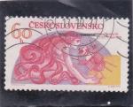 sellos de Europa - Checoslovaquia -  INVESTIGACIÓN DEL ESPACIO