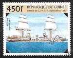 sellos de Africa - Guinea -  Veleros - « Inflexible », 1881