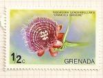 Stamps Grenada -  Flores de Grenada- Passiforia Quadrangularis.
