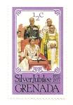 Stamps Grenada -  Coronacion de Isabel II.