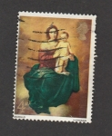 Stamps United Kingdom -  Madonna con Niño por Murillo