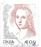 Stamps Italy -  personajes