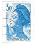 Sellos de Europa - Francia -  3 azul