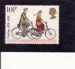 Stamps United Kingdom -  Bicicletas-Centenario