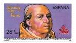 Sellos de Europa - España -  papa aLejandro VI