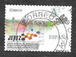Stamps Spain -  Edf 5046 - Capital del Mundo de Motociclismo