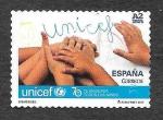 Sellos de Europa - España -  Edf 5153 - LXX Aniversario de la UNICEF