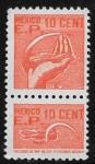 Sellos de America - México -  Timbre Fiscal: Maíz