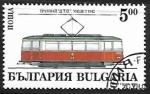 Sellos de Europa - Bulgaria -  Ferrocarriles - Sofia's trams