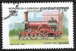 Sellos de Asia - Camboya -  Ferrocarriles - Daniel Gooch's