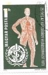 Sellos de Europa - Hungría -  medicina
