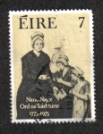 Sellos del Mundo : Europa : Irlanda : Bicentenario de la Orden de Presentación de las Monjas, Nano Nagle (1718-1784)