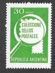 Sellos de America - Argentina -  1235 - Colección de Sellos Postales