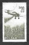 Sellos de Europa - Polonia -  C55 - Aviación Contemporánea