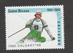 Stamps Guinea Bissau -  Olimpisdsd de Invierno, Calgary 1988