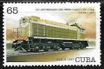 Sellos de America - Cuba -  Ferrocarriles - T.E.M4:1 (Soviet Union 1970)