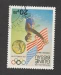 Stamps Guinea Bissau -  Olímpiadas Los Angeles 1984