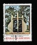 Sellos de Africa - Guinea Bissau -  60 Aniv. del nacimiento de Amilcar Cabral