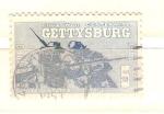 Sellos de America - Estados Unidos -  getysburg
