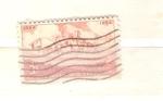 Sellos de America - Estados Unidos -  kansas cent territorio