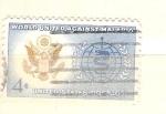 Sellos de America - Estados Unidos -  RESERVADO malaria