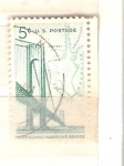 Sellos de America - Estados Unidos -  RESERVADO puente